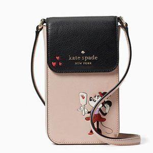 Kate Spade x Disney Minnie Beige Phone Crossbody